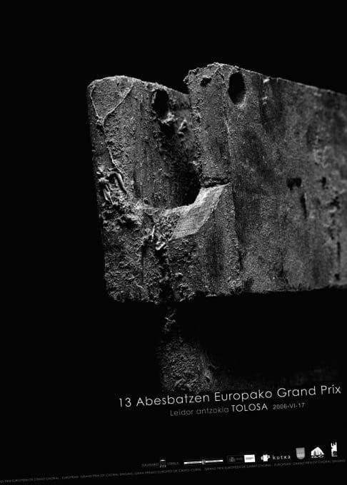 Cartel 18º Gran Premio Europeo