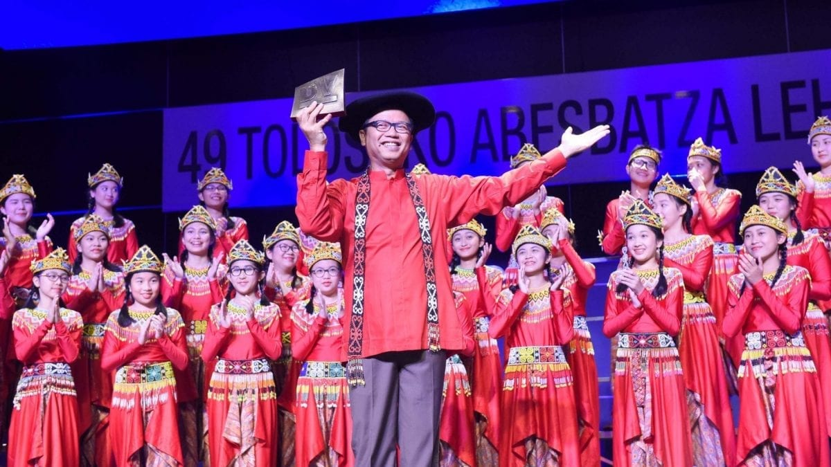 The Resonanz Children's Choir from Indonesia winner of the 49th Tolosa Choral Contest 7
