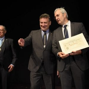 CIT was presented with the Diploma of Collective Friend by the Royal Society of Friends of the Basque Country 47