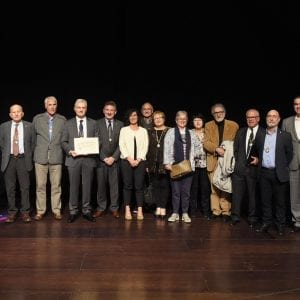 CIT was presented with the Diploma of Collective Friend by the Royal Society of Friends of the Basque Country 49