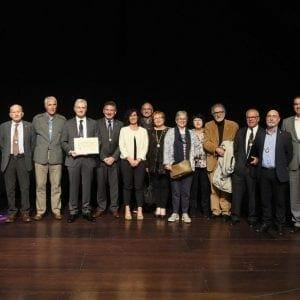Real Sociedad Bascongada de Amigos del País hace entrega al CIT del Diploma que le acredita como Amigo Colectivo 49