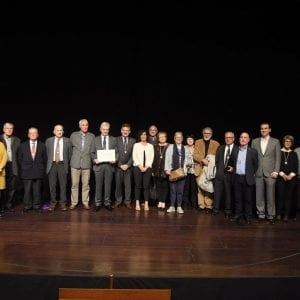 CIT was presented with the Diploma of Collective Friend by the Royal Society of Friends of the Basque Country 51