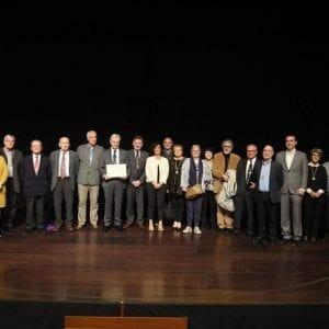 Real Sociedad Bascongada de Amigos del País hace entrega al CIT del Diploma que le acredita como Amigo Colectivo 51