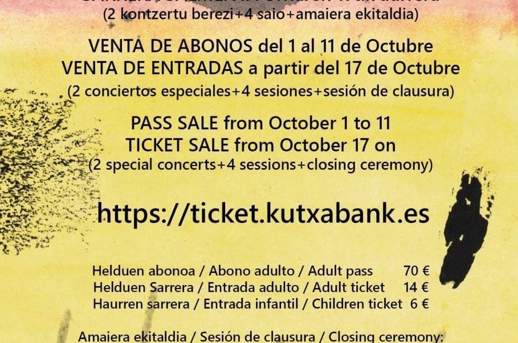 Pass and ticket sale 10