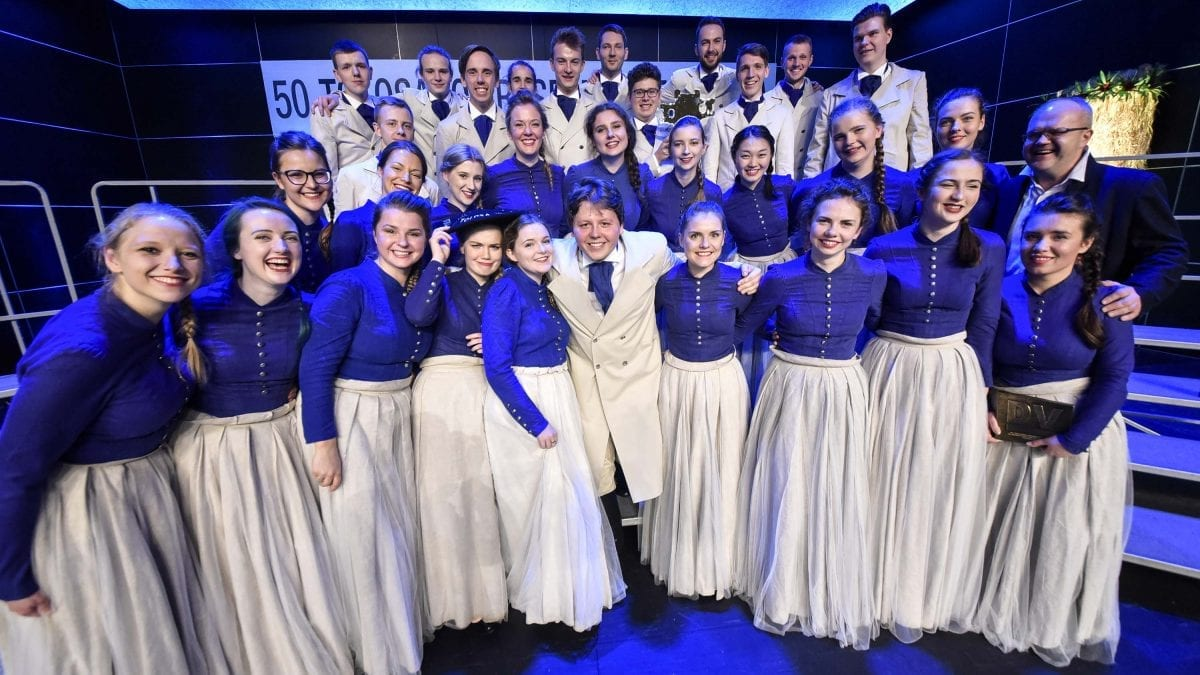 "YOUTH CHOIR ""KAMĒR…"" WINS THE 50th ANNIVERSARY TOLOSA GRAND PRIZE!! 7"