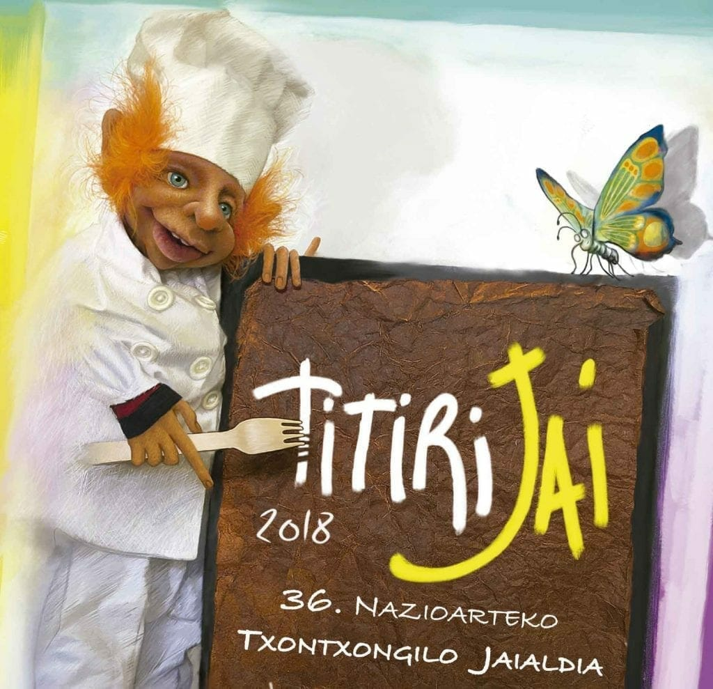 TITIRIJAI 2018, 36. TOLOSAKO NAZIOARTEKO TXOTXONGILO JAIALDIA 37