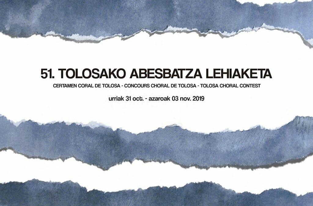 Certamen Coral Internacional de Tolosa 2019