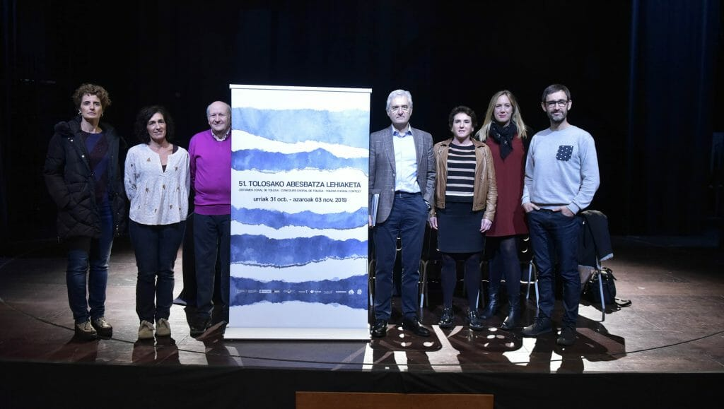 Presentado el 51 Certamen Coral Internacional de Tolosa 13