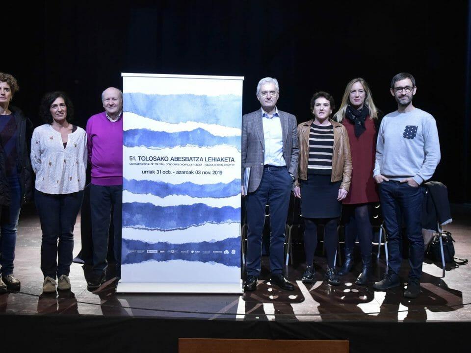 Presentado el 51 Certamen Coral Internacional de Tolosa 29