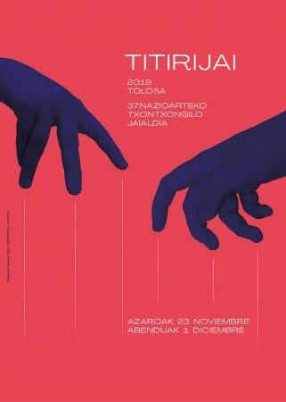 Cartel 2019 Titirijai Tolosa