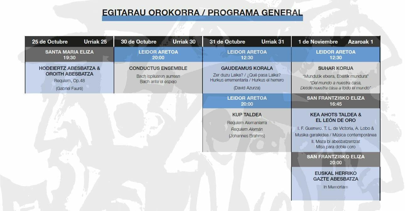 TOLOSAKO ABESBATZA JAIALDIA 2020: EGITARAU AURRERAPENA 11