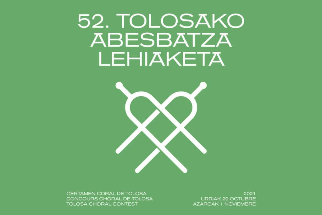 52º Certamen Coral de Tolosa: venta de entradas a partir del 17 de octubre, a las 19h 7